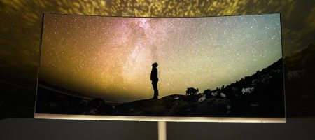Televisor Samsung Curvo