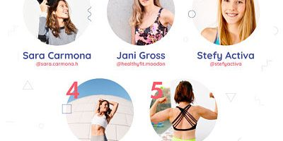 Conoce el ranking de las 5 influencers en nutrición que destacan en Instagram
