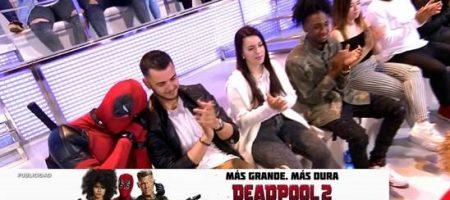 La nueva aventura de Deadpool 2: convertirse en público de programas de televisión